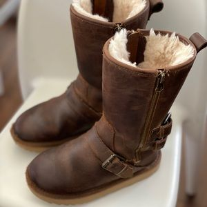 Ugg Distressed Moto Boots
